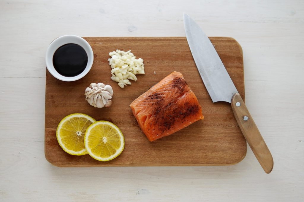 Salmon and Oily Fish - Food and Nutrition Vitamin - Human Architecture